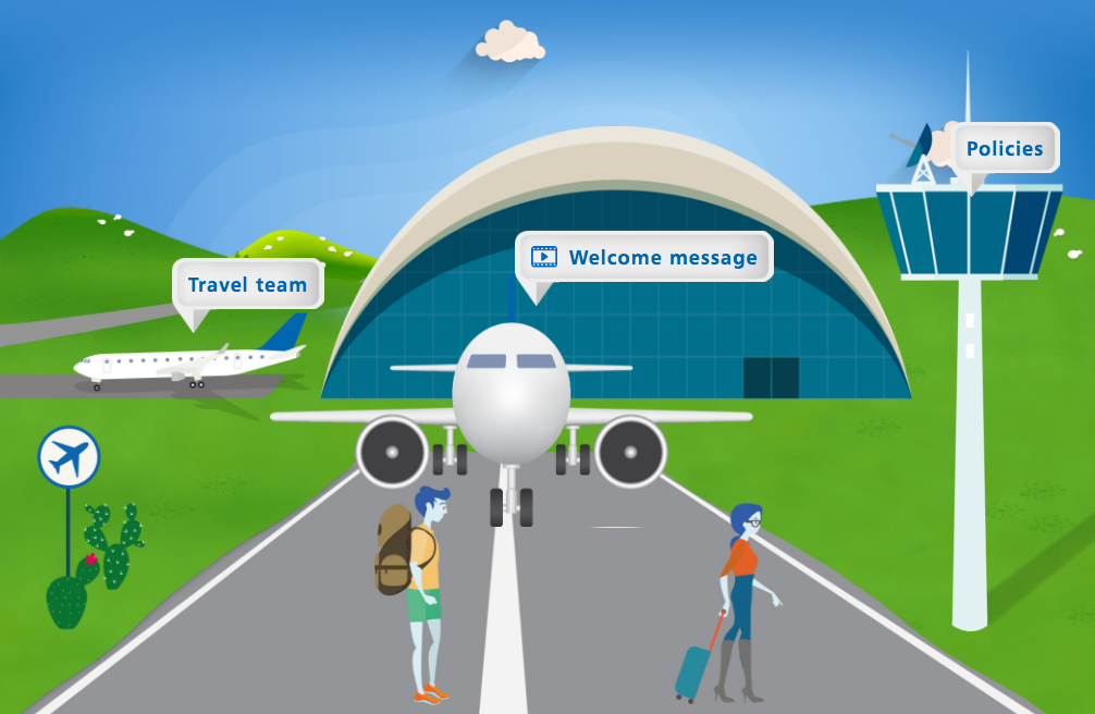 guided learning airport