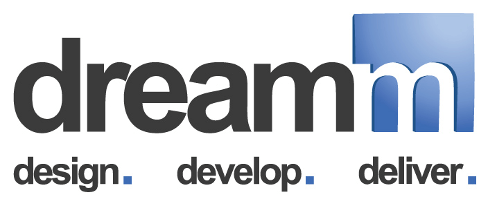 dreamm, design. develop. deliver.